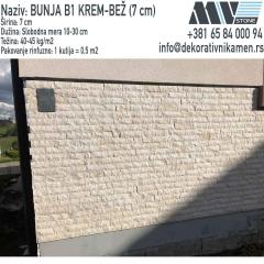 Kamen za fasade