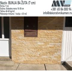 Kamen za fasadu