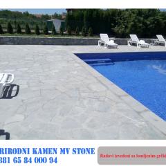 Kamen za oko bazena
