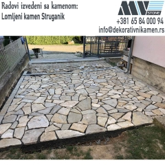 Lomljeni kamen za dvoriste