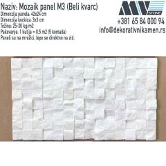 Prirodni-kamen-MV-STONE_Prirodni-kamen-mozaik-na-mrezici-Beli-mermer-Beli-kvarc-mozaik_Kamen-za-zid_1