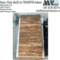 Kamen travertin