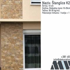Prirodni kamen za fasadu